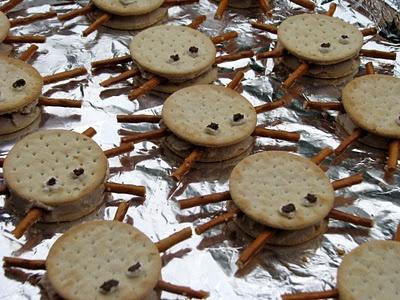 Spider Crackers - Örümcek Krakerler - Ragnetti di Crackers