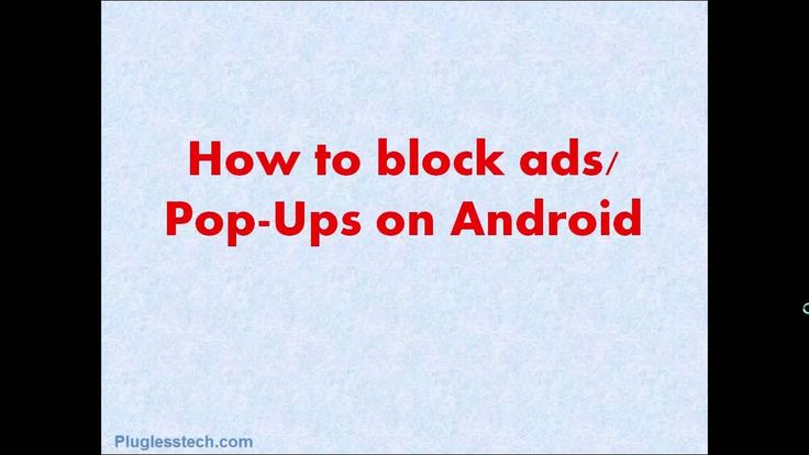 Pop-up ads are the most intrusive kind of adverts. Downloading heavy web-pages takes enough data: you don't need the additional cost of paying to load up an ad man's marketing message. Sometimes it is a bit disturbing while browsing with a small screen of your phone.  SUBSCRIBE Now: https://www.youtube.com/channel/UCIU7NFPeSON16KgIanKTkbA  Fortunately for Android users there is no reason to suffer from pop-ups on your mobile. And here we suggest three straightforward ways to stop pop-ups…