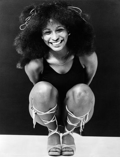 Chaka Khan (one of the most amazing singers)