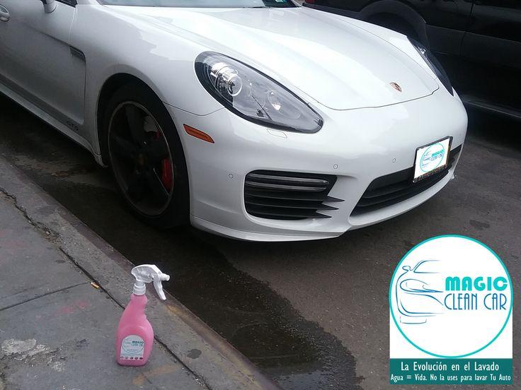 Cliente Magic Clean Car, El #Porsche brilla espectacular #Lavarsinagua -  La Evolución en el Lavado