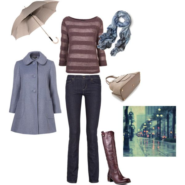 """""""Soft Summer - Rainy Winter Day"""" by pinz824 on Polyvore"""