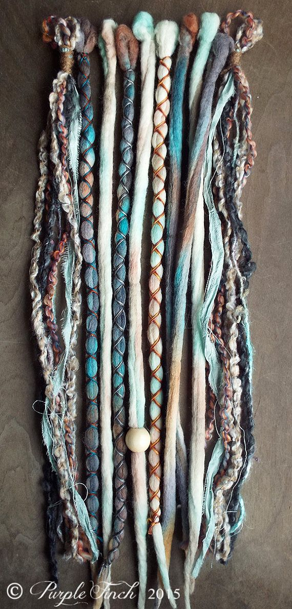 10 Mixed Native & Sand Tie-Dye Wool Synthetic by PurpleFinchStore