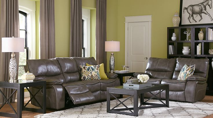 78 Best Ideas About Leather Living Room Furniture On Pinterest Brown Sectional Leather Couch