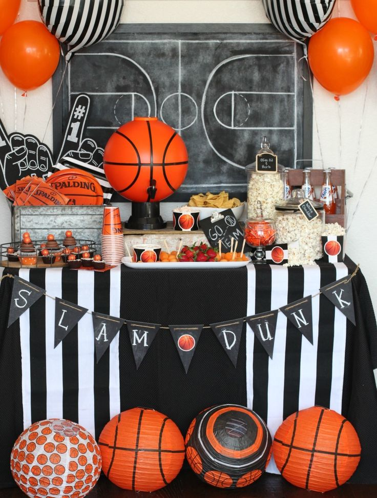 20+ Easy Graduation Party Ideas in 2020 Sports themed