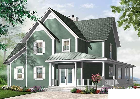 609 best Floor plans fantasy images on Pinterest   Homes, Country ...