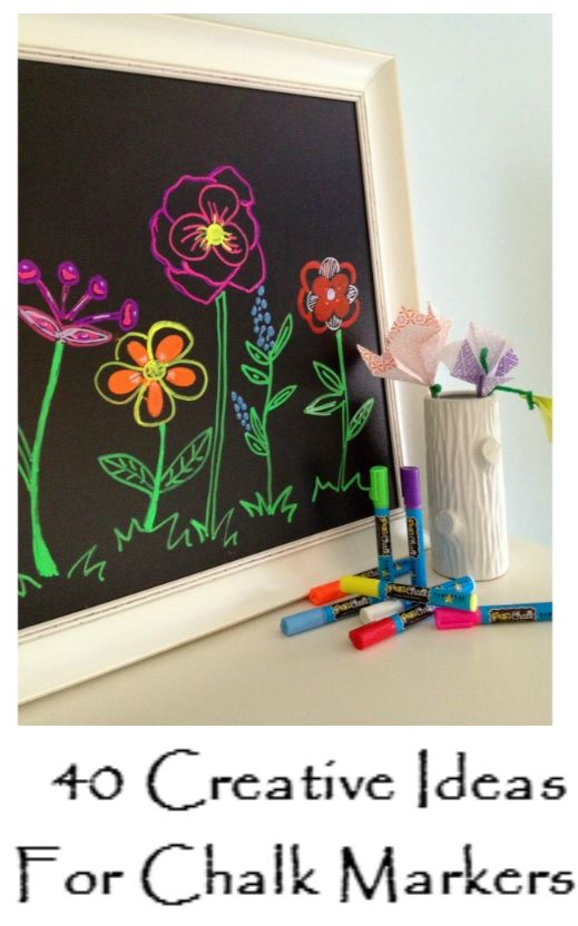 25 unique chalk markers ideas on pinterest chalk board for Unique chalkboard ideas