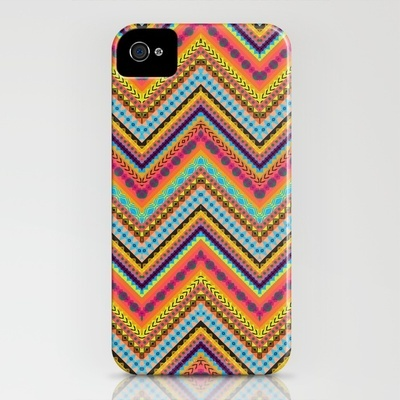 Tribal Chevron iPhone Case by Amy Sia - $35.00