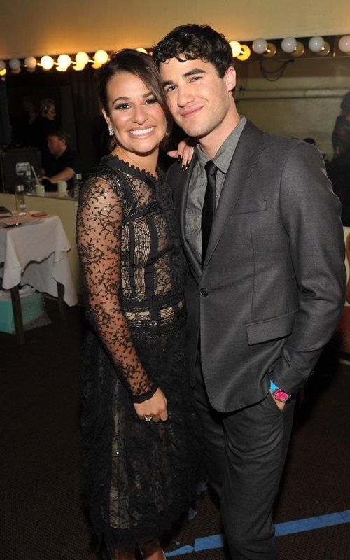 who is actually dating on glee The actress is dating glee actor chord overstreet they might seem like an odd match but they actually have very similar personalities.