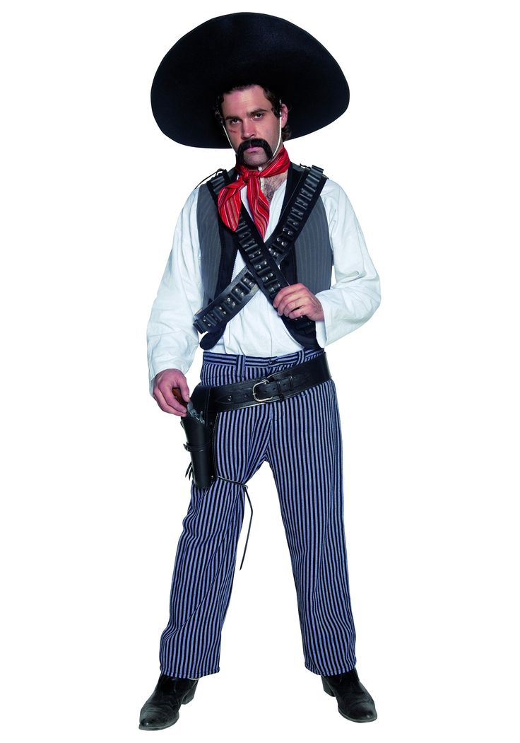Western Mexican Bandit Costume