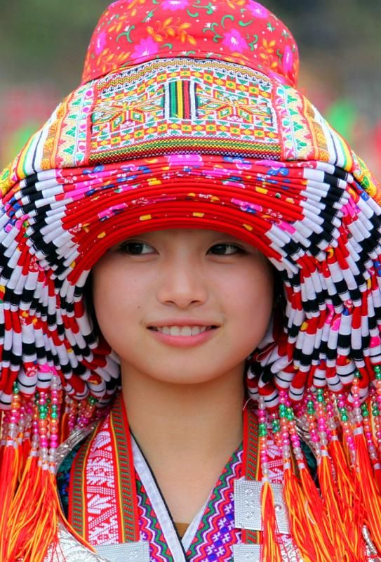 The traditional clothes of Yao people