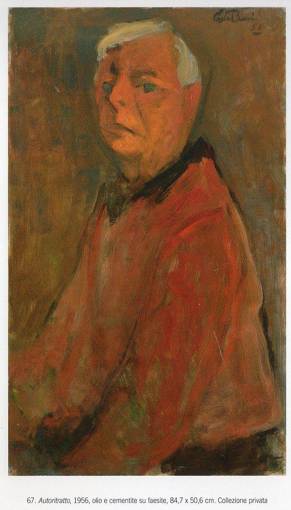 Ugo Castellani - Autoritratto 1956