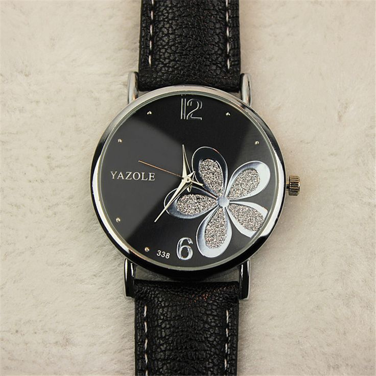 US $5.00 Fashion YAZOLE Luck Flower Watches Women Dress Watch Lady Casual Reloj Quartz Watches Orologio Da Polso Gift For Girlfriend D13