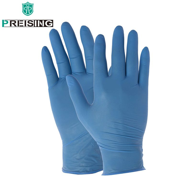 S/M/L/XL High Quality 100 Latex Gloves Powder Free Nitrile Disposable Safety Gloves Non Pvc Pe Mpe Material Hand Safety Glove #Affiliate
