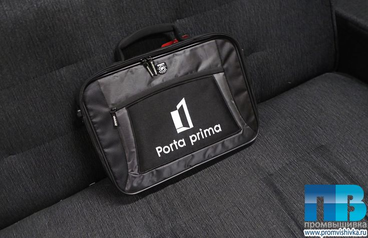Нашивки на сумку для ноутбука Porta prima