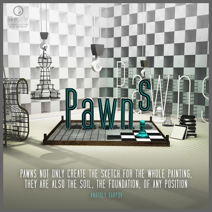 """Pawns not only create the sketch for the whole painting, they are also the soil, the foundation, of any position"" Anatoly Karpov #PremiumChess #art Play chess online #illustration #3Dartwork #3Ddesign #chess #LikeableDesign #chesspieces #chessart ♕ ♔ ♖ ♗ ♘ ♙"