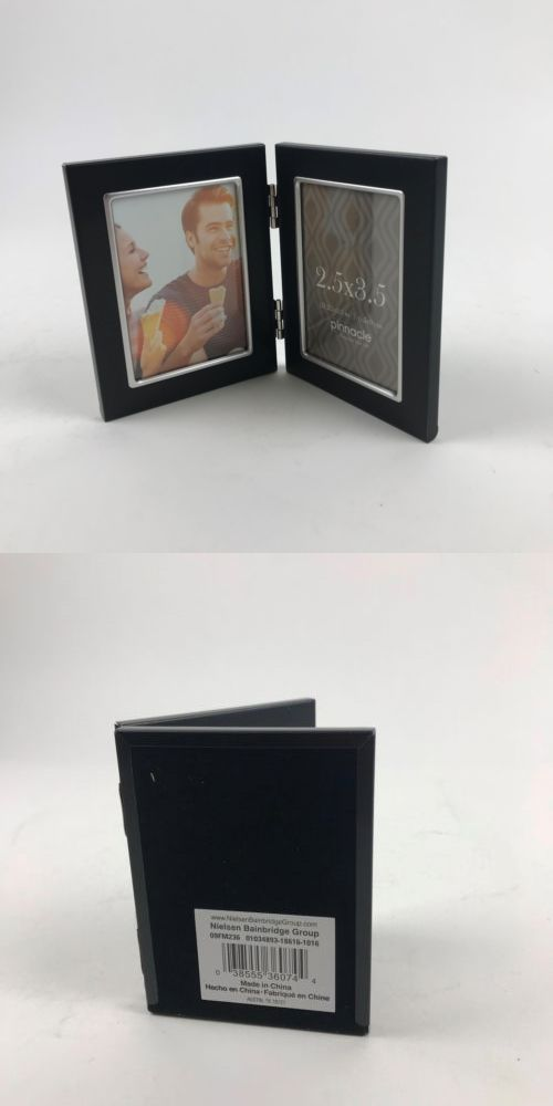 Picture Frames 40024 Pinnacle Metal 25x35 Double Black And Silver