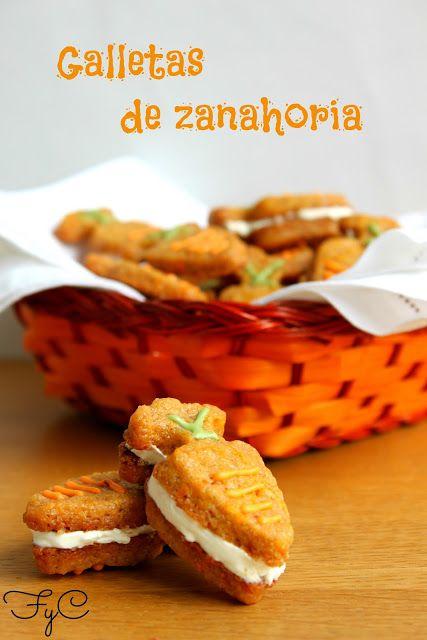 Frambuesa y Caramelo: Galletas de zanahoria/carrot cookies