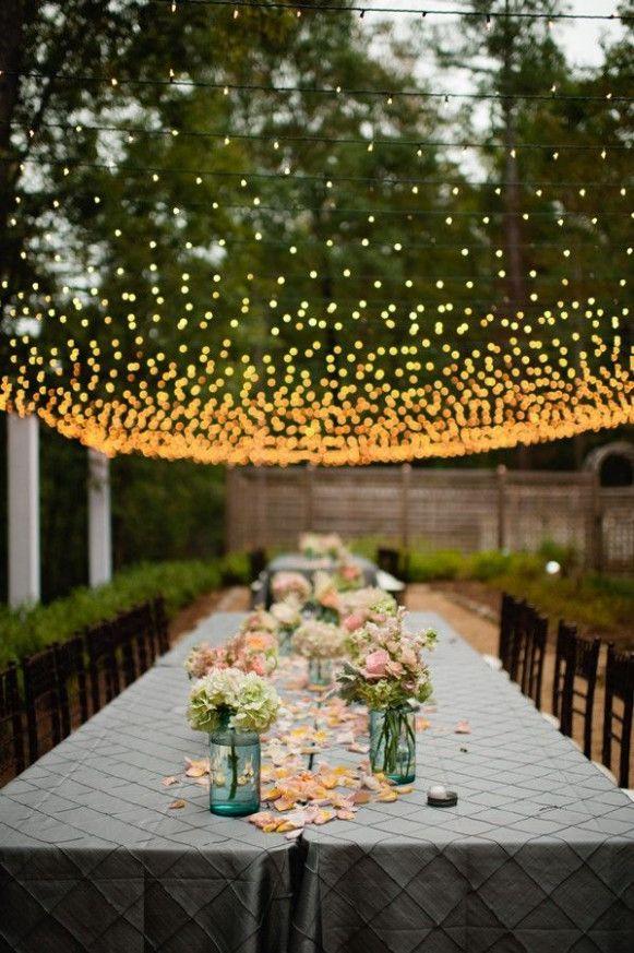Garden Wedding Lights Outdoor Parties Lights Wedding Decor Wedding Lights Diy Wedding Lighting