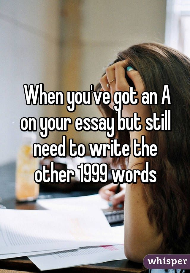 someone write your essay