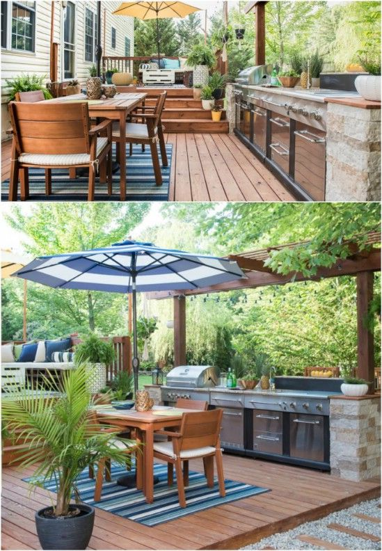 15 Amazing DIY Outdoor Kitchen Plans You Can Build On A Budget ... on unhealthy kitchen, unkept kitchen, funny back in the kitchen, restaurant kitchen, wet kitchen, ugly kitchen, used kitchen, artisan kitchen, unsanitary kitchen,