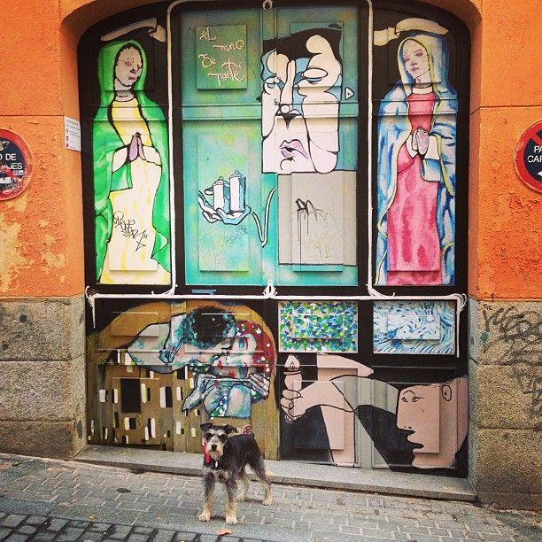 Madrid, beauties on the street.