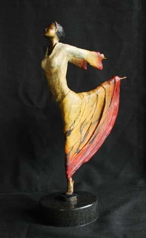 Belen     Artist   Joe Incrapera      Subject   dancer     Medium   Bronze     Category   Sculpture     Dimensions   H 14in x W 9in x D 4in