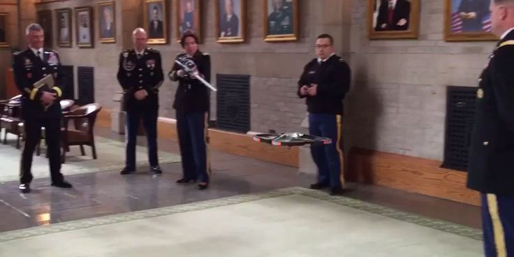 Cyber Rifle Downs Drone