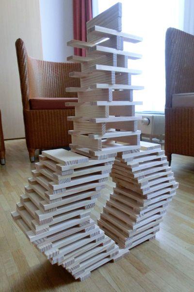 Estructura con Kapla