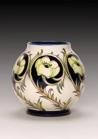 Moorcroft Pottery: Ring of Gold by Nicola Slaney