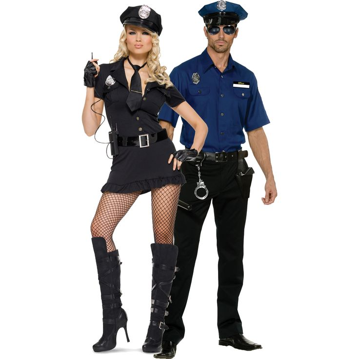 Office Oliver Clothesoff and Lady Cop