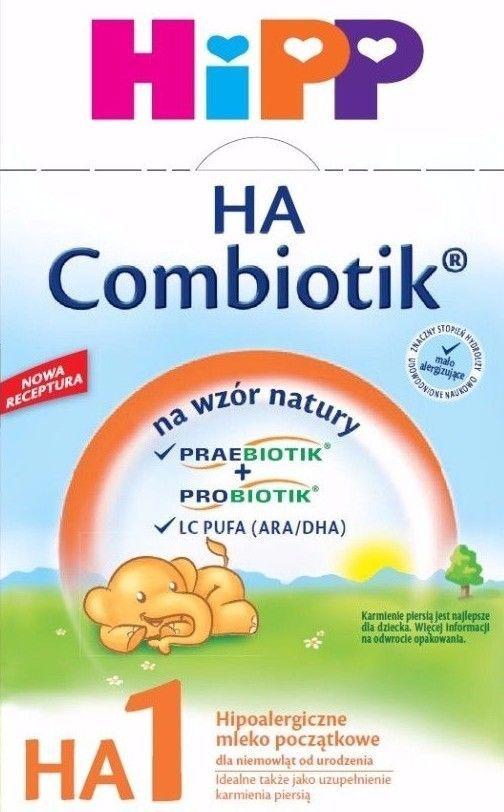 Formula 20403: Hipp Combiotic Ha 1 First Infant Milk Hypoallergenic Free Priority Shipping -> BUY IT NOW ONLY: $34.95 on eBay!