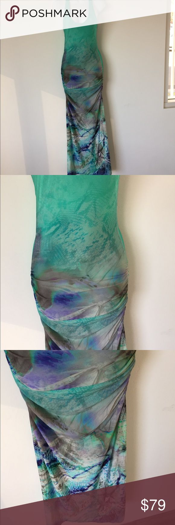 Sky animal print maxi dress size medium new Sky animal print maxi dress size medium new with tags .... please not dress has been handled and tried on in store and might have few dust stains  so can easily be removed by washing sold as is no returns and no refunds Sky Dresses Maxi