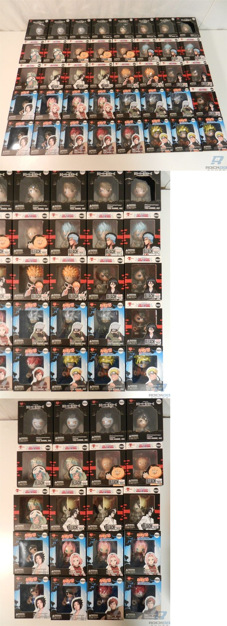 TV Movie and Character Toys 51031: Lot Of 40 Yes Anime Trexi Figures - Bleach, Deathnote, Naruto - Ryuk, Ichigo -> BUY IT NOW ONLY: $234.99 on eBay!