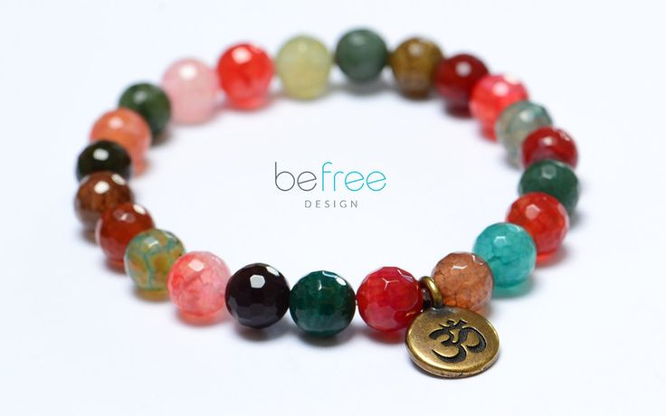 Bilbao - BeFreeDesign - Bransoletki, #yoga bracelet