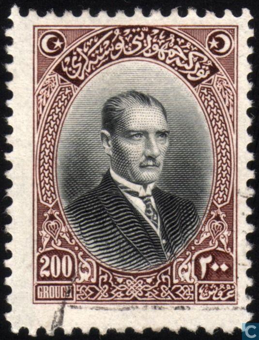 1926 Turkey - Mustafa Kemal ATATÜRK