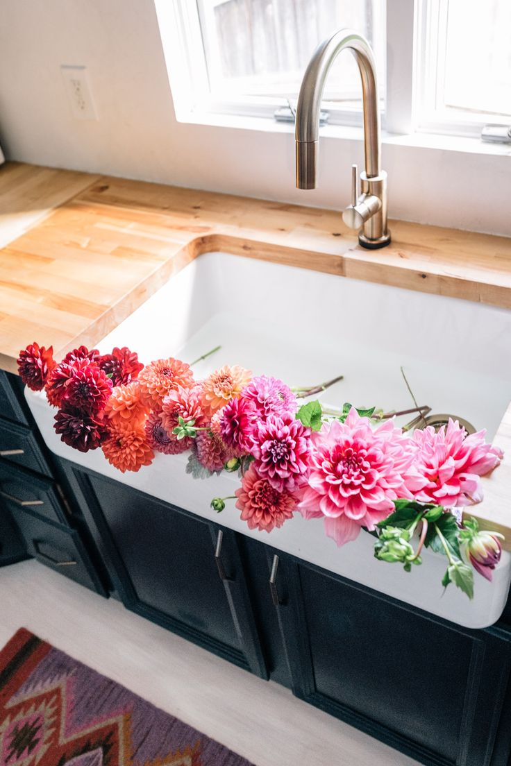 292 best plants and flowers images on pinterest background images choosing fixtures for our kitchen and bathroom jess ann kirby a rainbow of dahlias izmirmasajfo Image collections