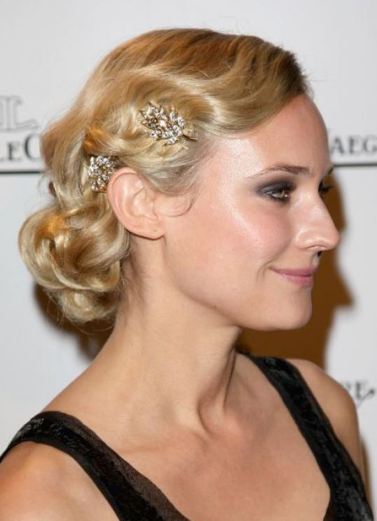 Vintage Wedding Hairstyles For Short Hair Pictures 1