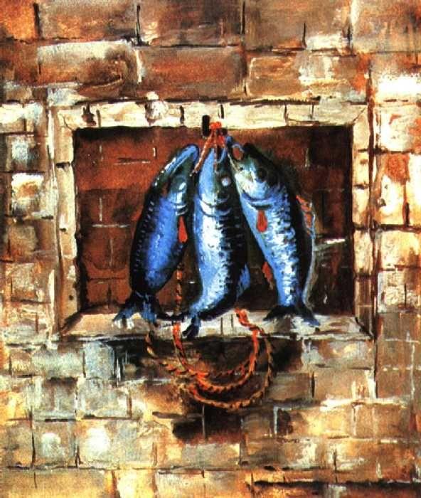 http://evitebsk.com/w/images/d/d6/Ermolaeva_1929.jpg Эскиз обложки к книге А. И. Введенского `Рыбаки`. 1929.