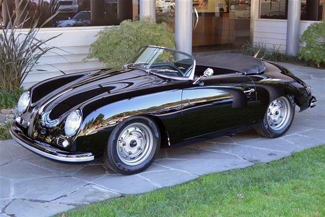 1956 Porsche 356 Speedster perfection!