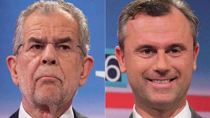 El ultranacionalista Norbert Hofer y el ecologista Alexander Van der Bellen han quedado virtualmente empatados este domingo en las elecciones presidenciales de Austria, según resultados preliminares.