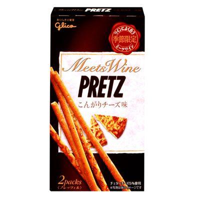 PRETZ MEETS WINE(プレッツ ミーツ ワイン) <こんがりチーズ味> - 食@新製品 - 『新製品』から食の今と明日を見る!
