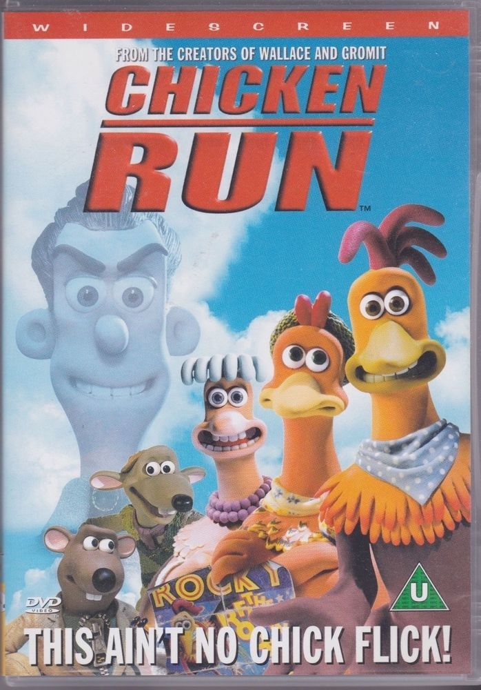 ecb22bf53bb2 Chicken Run DVD from Nick Park (Aardman Animations)
