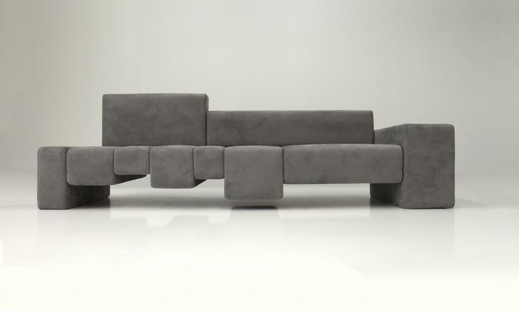 THE FIFTH AVENUE sofa - Design: Dima Loginoff - Photo Shooting: Davide Buscioni for Protocol #design #dimaloginoff