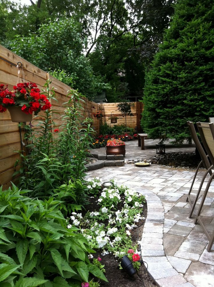 landscaping with wood