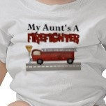 My Aunt's a Firefighter baby tee <3