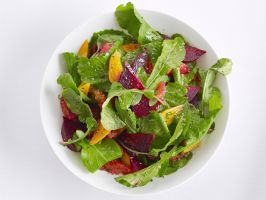 Beet and Orange Salad : This simple jewel-toned salad makes a super first course.