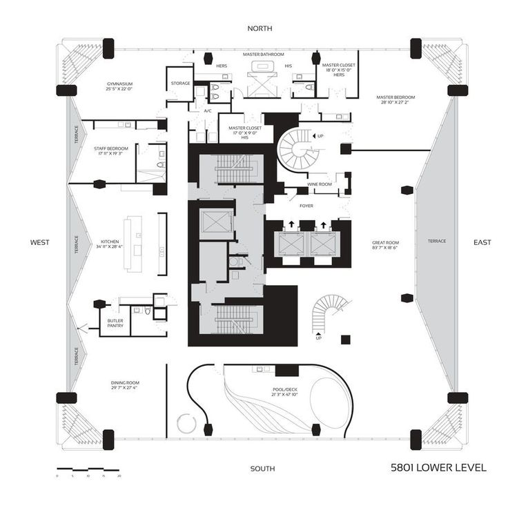 203 best floor plans sections elevations images on for Apartment plans canada
