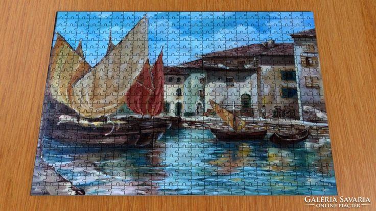 Puzzle - kortárs művész festménye a kirakón 8.