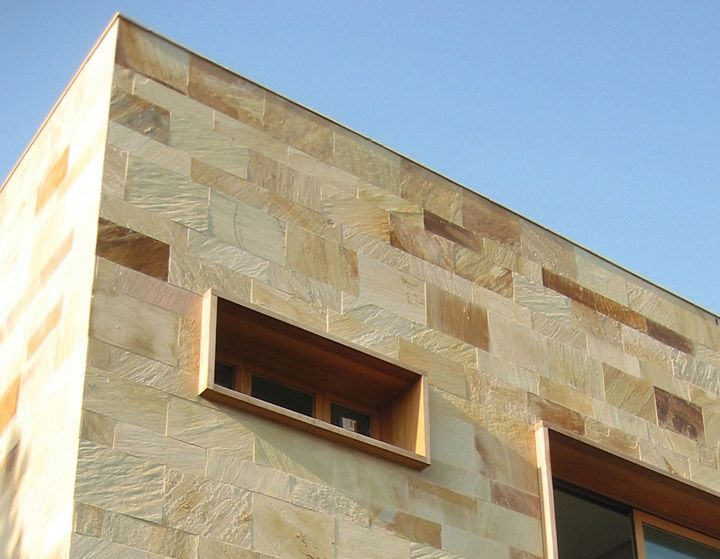 fachada piedra pizarra natural buscar con google