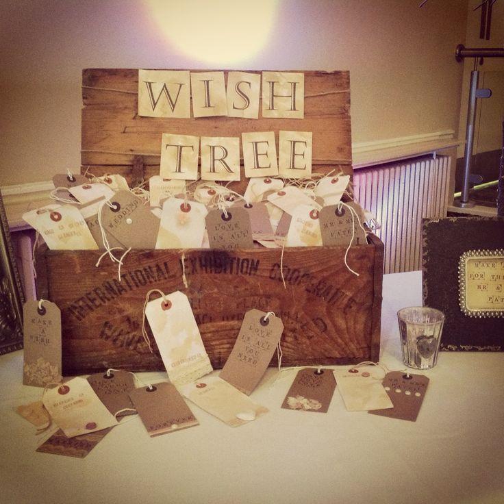 Handmade Tags Wedding Wish Tree